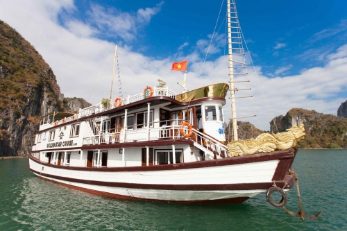 HANOI  HALONG 2 DAYS 1 NIGHT SLEEP IN GOLDEN STAR CRUISE 3*