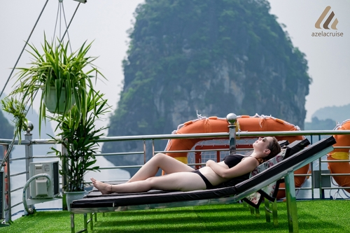 DISCOUNT EARLY BOOKED 4 STAR CRUISE TRIP IN HA LONG BAY